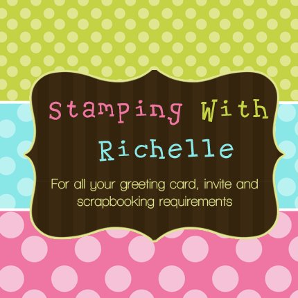 Stamping with richelle cover pic
