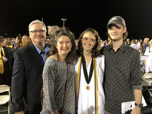 Riley family grad