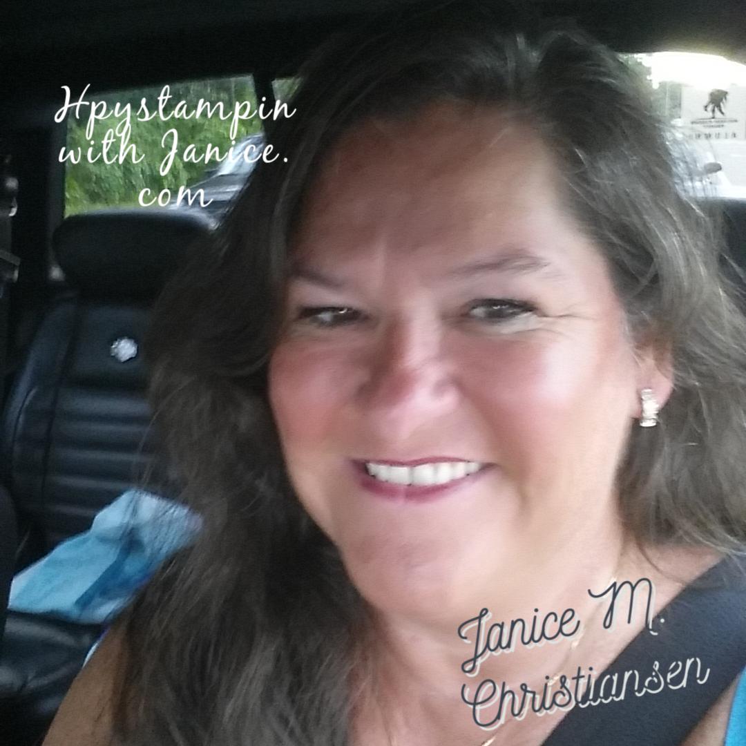 Janice smilling